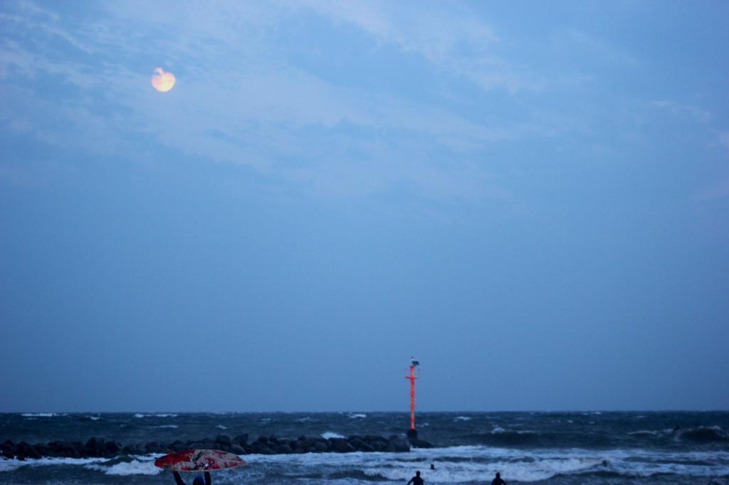 Damper Abendhimmel