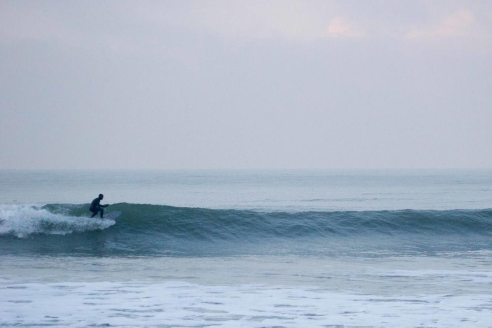 Rauschen auf Surffoto