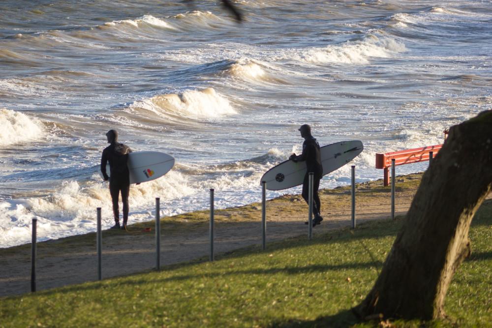 Surfer Ostsee