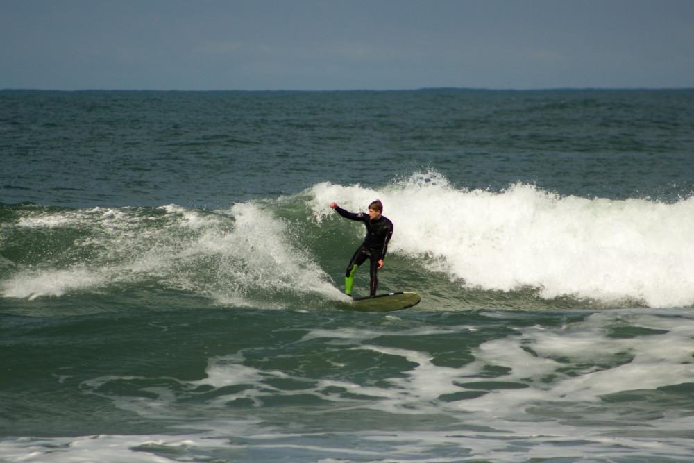Longboard Cutback