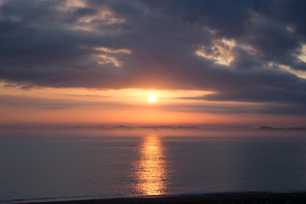 Sonnenaufgang Dänemark