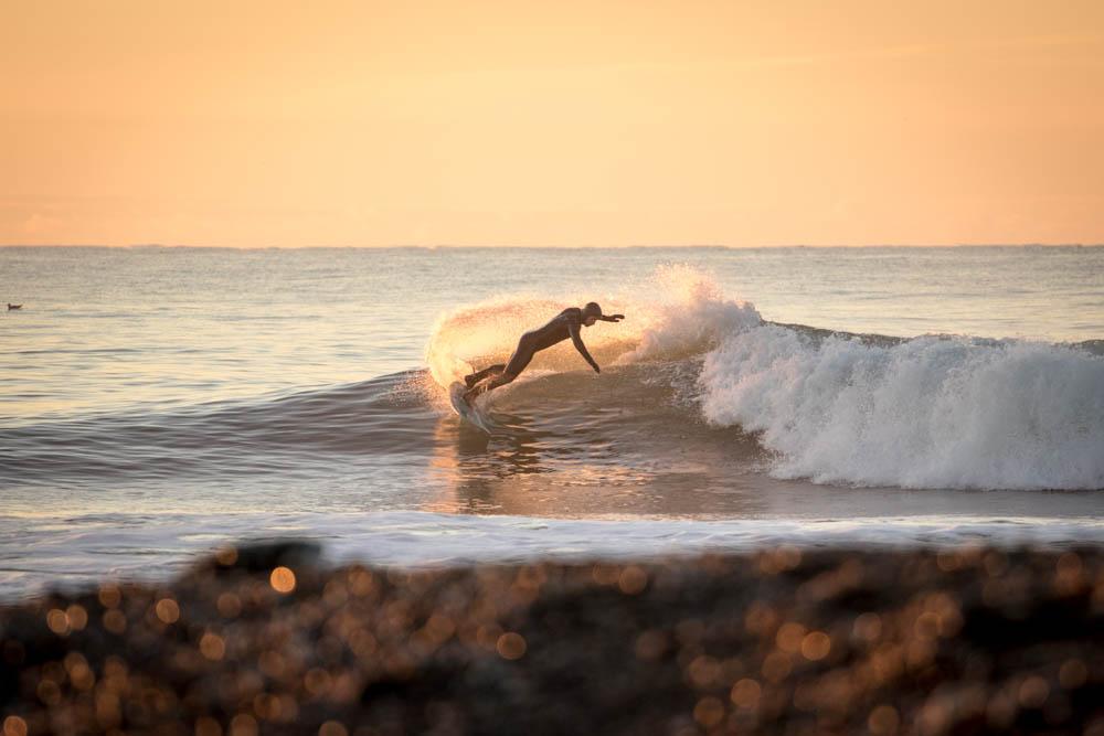 Das richtige Licht für ein Surffoto
