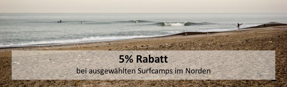 Surfcamps Nordsee Rabatt