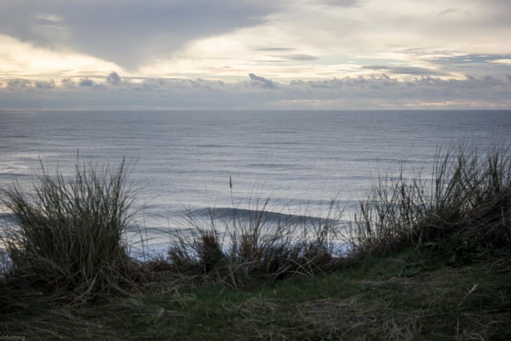 Blick von der Düne auf die Nordsee