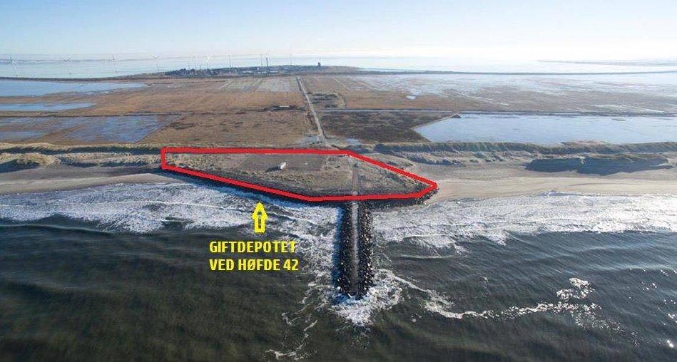 Umweltkatastrophe Nordsee Thyborøn