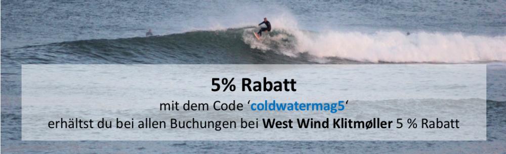 West Wind Klitmøller Rabatt