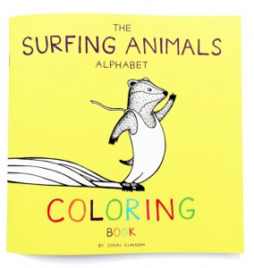 The Surfing Animals Alphabet Malbuch