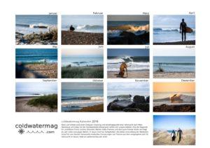 coldwatermag Surfkalender Übersicht
